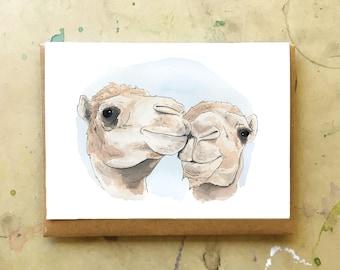 Camel Love Greeting Card