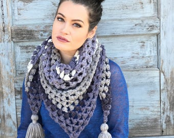 The Revival Triangle Scarf