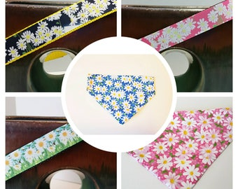 Daisy Dog Collar, Daisy Dog Harness, or Pink Daisy Dog Leash, Dog Collar, Flowers Dog Collar, Spring Dog Collar, Dog Supplies, Pet Gift