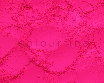 Neon Pink Fluorescent Powder pigment