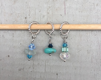 Nautical Stitch Marker Set