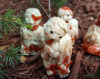 The Walker Herd - Walking Dead Inspired Novelty Soap - Zombies - Halloween Soap - AJSweetSoap Exclusive - Zombie Walker