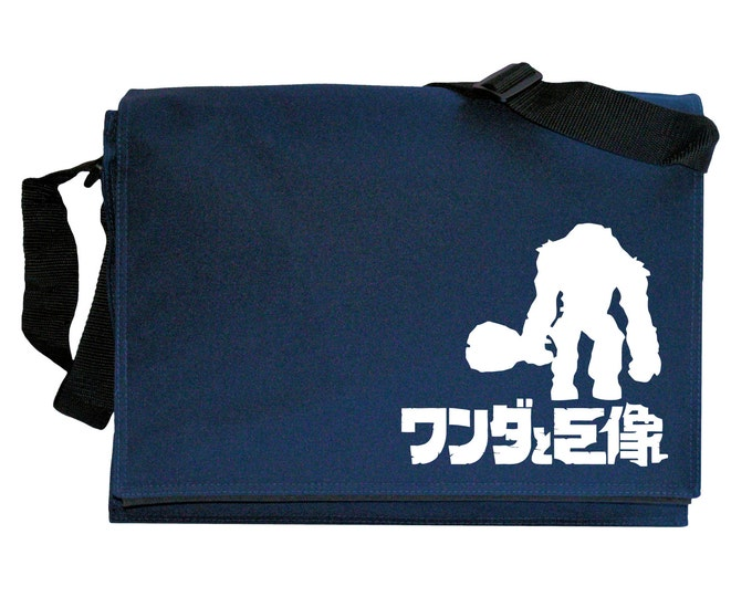 Shadow of the Colossus Tribute Navy Blue Messenger Shoulder Bag