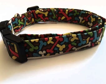 Collars For Dog, Dog Supplies, Cool Dog Accessories, Fabric Collar, Medium Size, Ready To Ship
