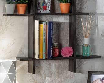 New wood shelf art. 48765 Free delivery in Italy