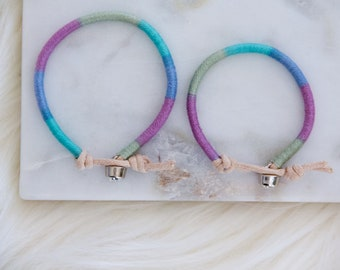Mother's Day Gift, Mommy and Me, Woven Friendship Bracelets