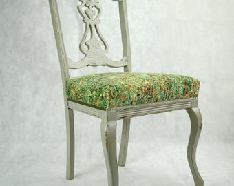 SOLD OUT - Victorian Bedroom Antique Chairs with Modern Twist
