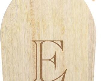"Mango Cutting Board with handle 6""x15"""