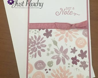 Sugarplum Blooms Note Card