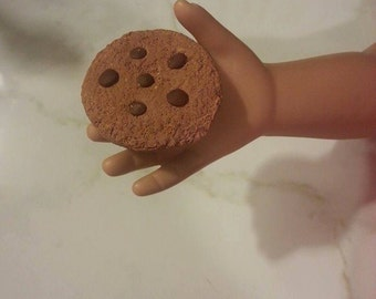 Chocolate Chip Cookies set of 6 for 18 inch dolls