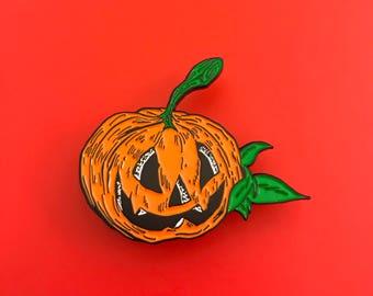 Halloween Pumpkin Enamel Pin