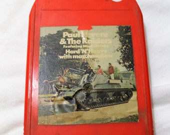 "8 Track Tape - Paul Revere & the Raiders ""Hard 'N' Heavy (with marshmallow)"" 1969"