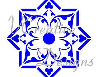571 Casablanca stencil