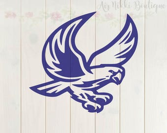 Falcon SVG, PNG, DXF files, instant download