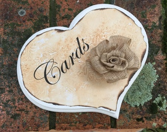 Card and message plaques