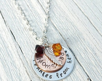 Pennies from Heaven, Penny from Heaven, Penny Necklace, Memorial Jewelry, Penny Jewelry , Angel Jewelry, Missing You, Funeral Gift