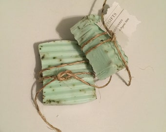 Honeydew Mint with Sea Salt Soap 4oz