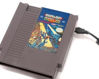 NES Hard Drive - Bionic Commando  USB 3.0