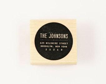 custom spot address stamp