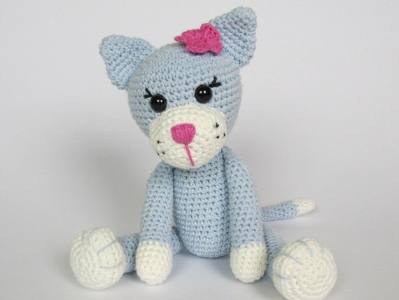 Amigurumi For Dummies Book : Kitty ela amigurumi crochet pattern pdf e book stuffed
