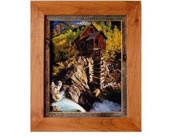 Rustic Frames - Alder Wood & Barnwood Frame - Sagebrush Series