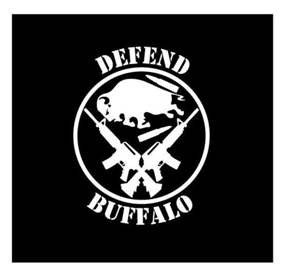 Defend buffalo vinyl die cut decal for cars truck laptops ny wny bills sabres