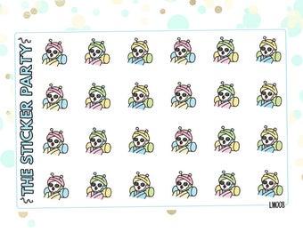 Lumi Spa Day Planner Stickers