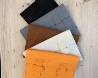 Felt envelope style wallet/case