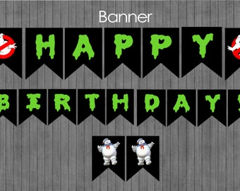 FLASH SALE 60% Off Ghostbuster Banner