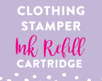 Clothing Stamper Ink Refill Cartridge - Lovely Little Party
