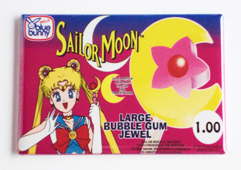 Sailor Moon Ice Cream Sign Fridge Magnet