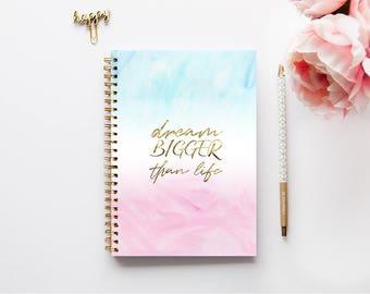 A4 Notebook | Bullet Journal | A5 Notebook | Notebook | Journal | Diary | Sketchbook | Spiral Notebook | Gift for friend School Journal