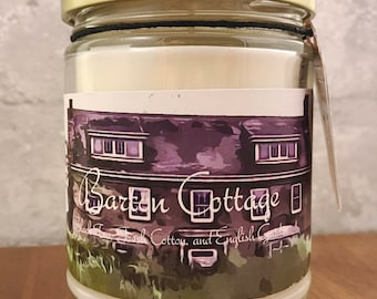 The Barton Cottage Candle: Inspired by Jane Austen's Sense and Sensibility // Valentines Day // Gifts for Her // Decor // Self Care