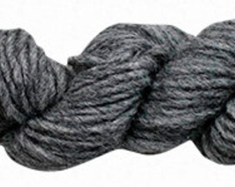 Amano Puyu Yarn - Baby Alpaca\Mulberry Silk Blend - Bulky - Dim Gray\Beautiful Alpaca Silk Yarn Blend