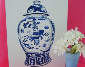GINGER JAR No. 2  - Original Painting