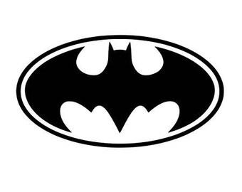 Pattern batman fusible
