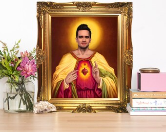 Brendon Urie Jesus Christ Artwork