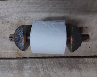 Log Toilet Paper Holder