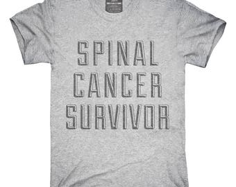 Spinal Cancer Survivor T-Shirt, Hoodie, Tank Top, Gifts