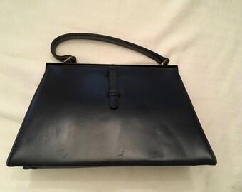 Paristyle Navy Blue Faux Leather bag