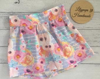 Floral Evie Shorts