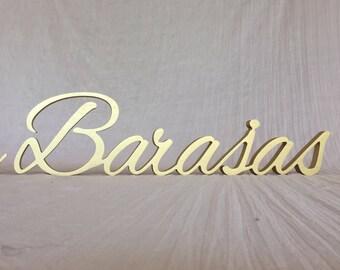 Personalized sign. Name sign Wedding. Wedding  table sign. Wedding Name Sign. Family name sign. Name sign wood. Last name sign. Wedding sign