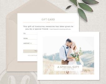 Photography gift certificate template gift card design photo wedding photography gift certificate template photography gift certificate template photoshop template for photographers yadclub Choice Image