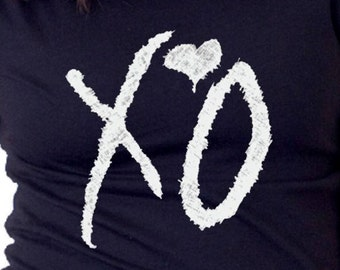 Hugs and Kisses  X's and O's HEART T-shirt