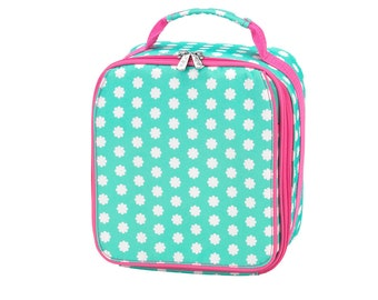 Hadley Bloom Lunch Box, FREE Name or Monogram