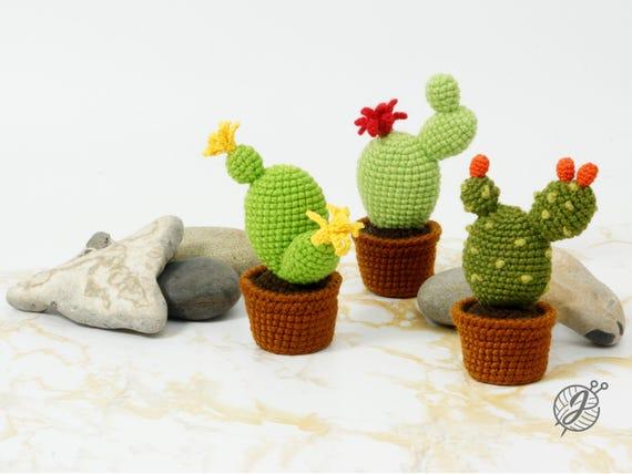 Amigurumi Cactus Crochet Pattern : Cactus crochet pattern amigurumi cactus diy tutorial crochet
