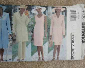 Butterick 5929 Ladies  skirt/trouser/jacket ensemble   Size 14-16-18 1999