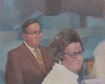 jersey city fine art print, portrait painting, figure painting, figurative art, contemporary art, contemporary painting by Michelle Farro
