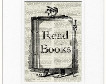 read books sign