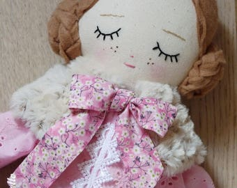 Juliet, 41 cm doll - rag - doll - rag doll doll - handmade doll - cloth doll - fabric doll